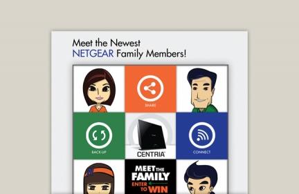 Netgear Centria Social Media