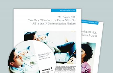 Ericsson Brochures & Packaging